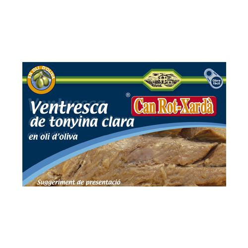 20024 Ventresca de tonyina clara en oli d'oliva 120ml
